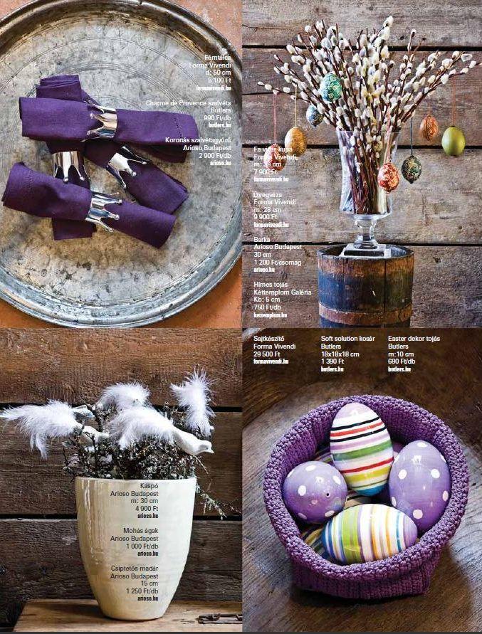 Urban rustic húsvét