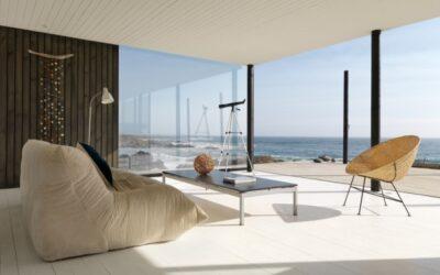 ház a chilei tengerparton