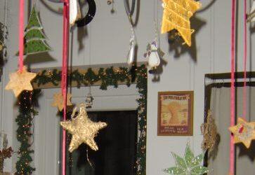 karácsonyi dekor mézeskalácsból