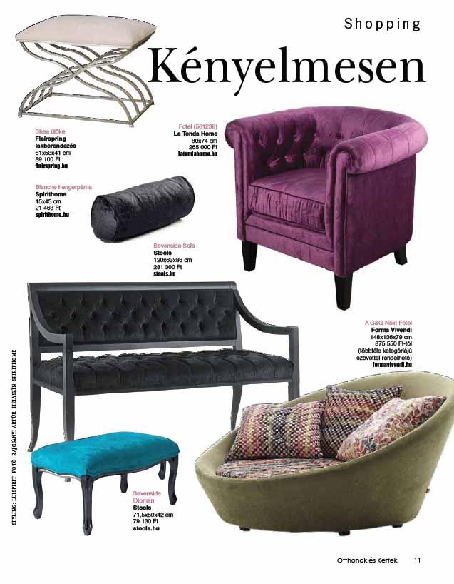 Stylist works Otthonok és Kertek 2013 február-március