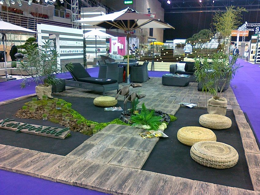 Gardenexpo 2013.03.22-25. LuiSpirit & Kertportál közös stand