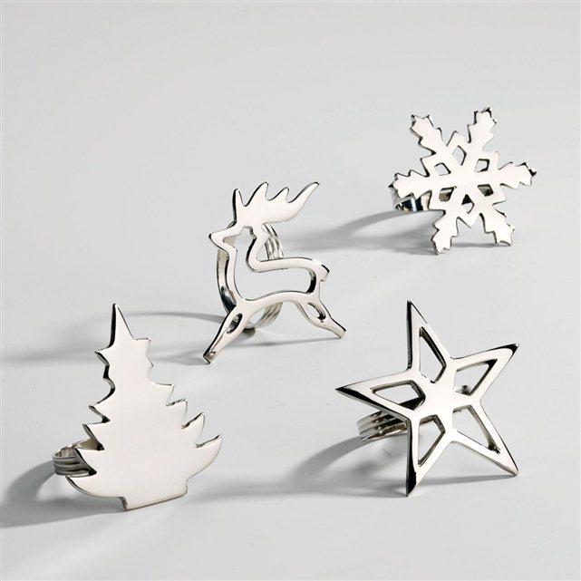ünnep közeleg – karácsonyi szalvétagyűrűk