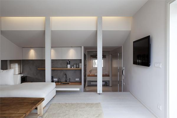 gyönyörű penthouse Barcelonában