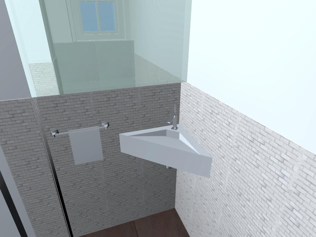 egyedi mosdó