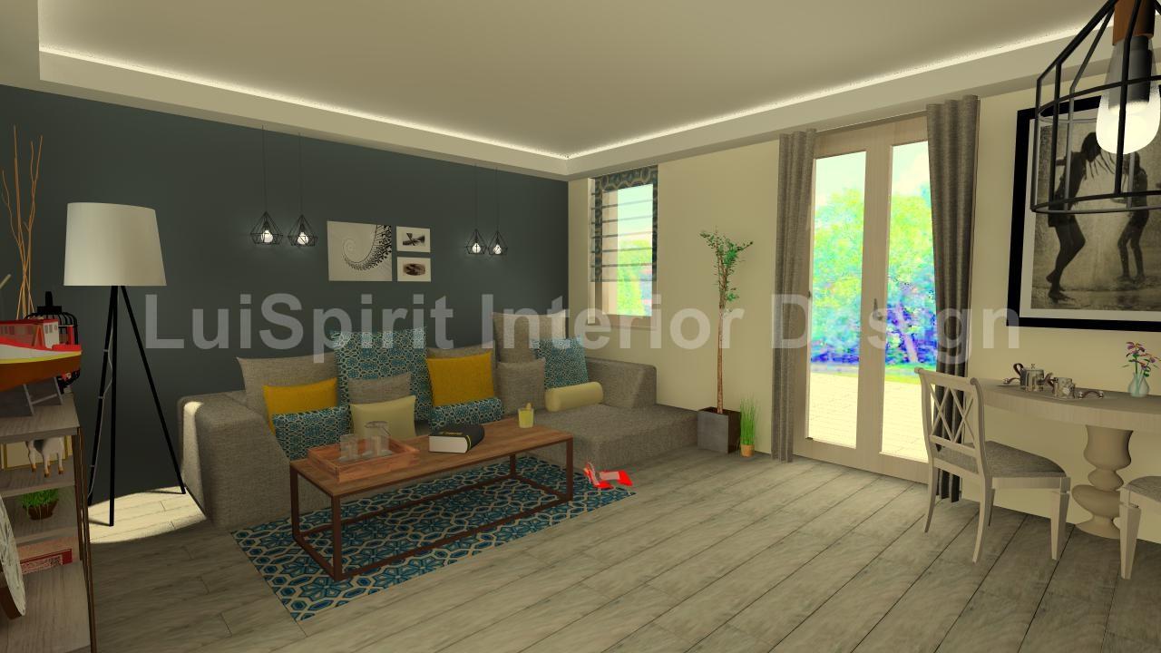 otthonos egyedi nappali