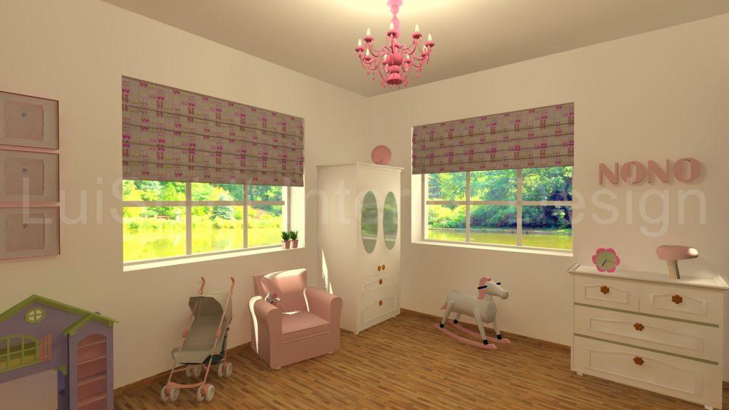 kislány szoba
